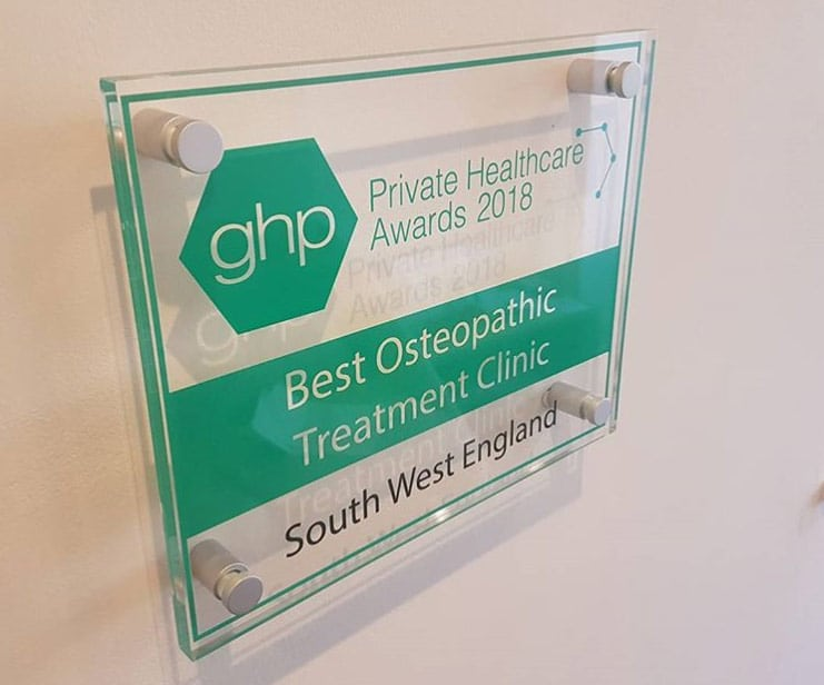 Best Osteopathic clinic in south west england